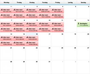 Garminkalender